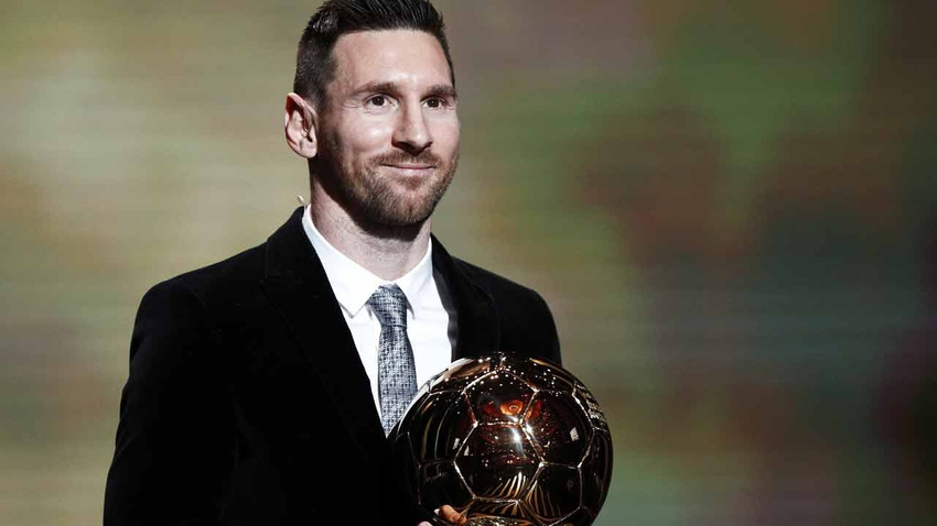 Altın Top ödülünün sahibi Lionel Messi oldu