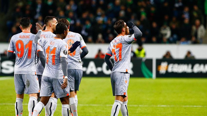 Mönchengladbach - Başakşehir: 1-2