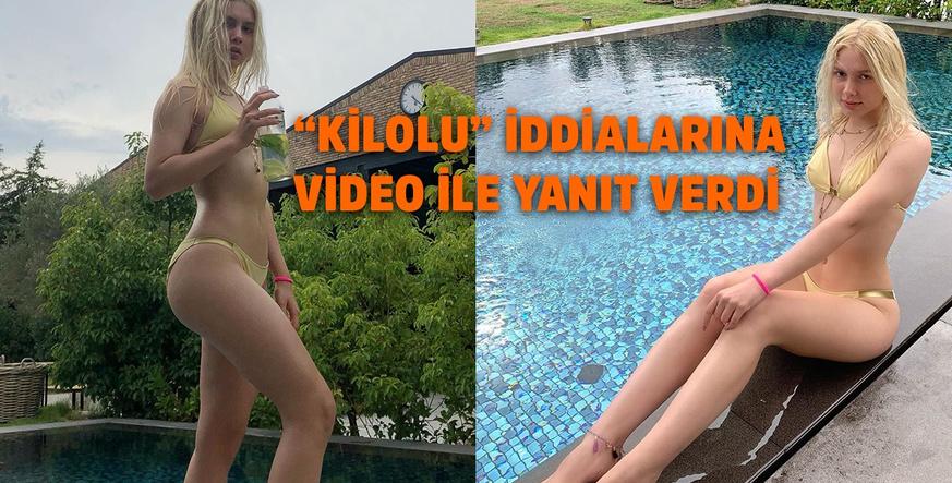 Aleyna Tilki'den olay paylaşım