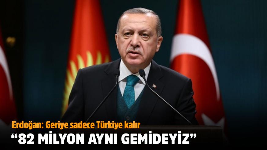 Erdoğan'dan birlik mesajı