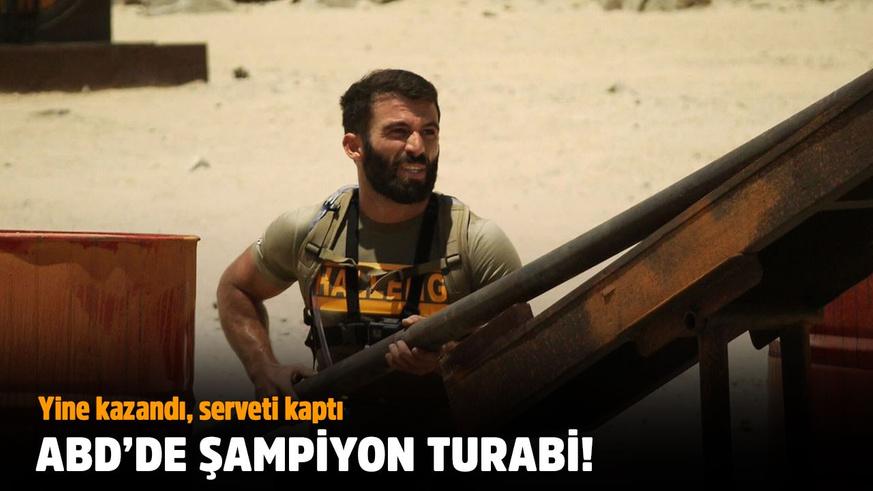 Turabi ABD'de de şampiyon oldu