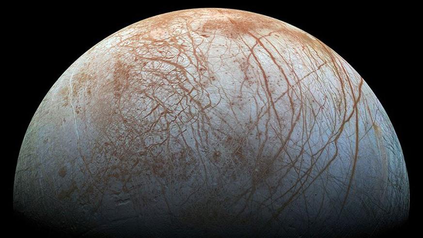 Jüpiter'in uydusu Europa'da su buharı bulundu