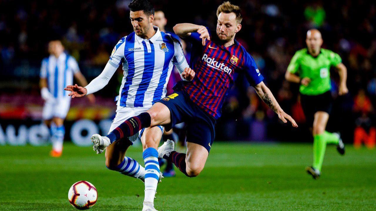 Barcelona maçında tuhaf olay