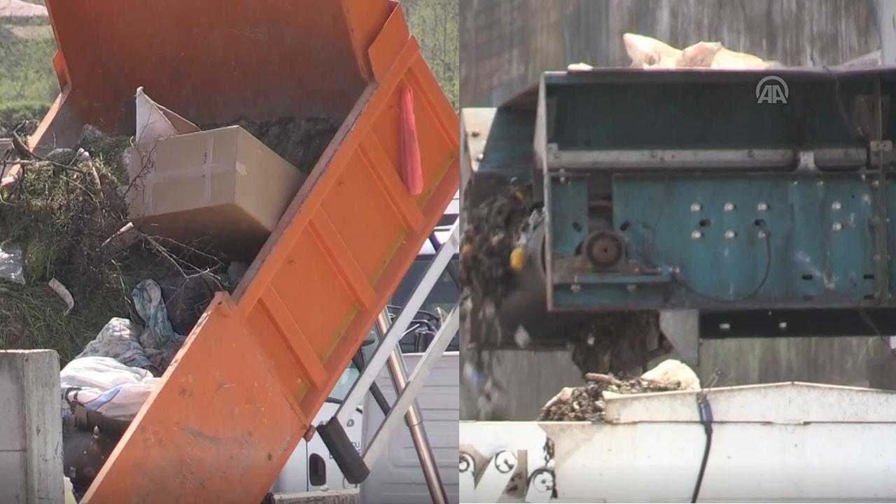 Çöp ayrıştırma tesisinde bebek cesedi bulundu