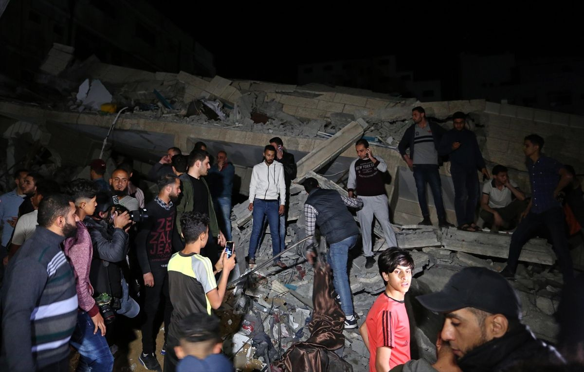 İsrail'in Gazze'ye saldırısından kareler - Sayfa 1