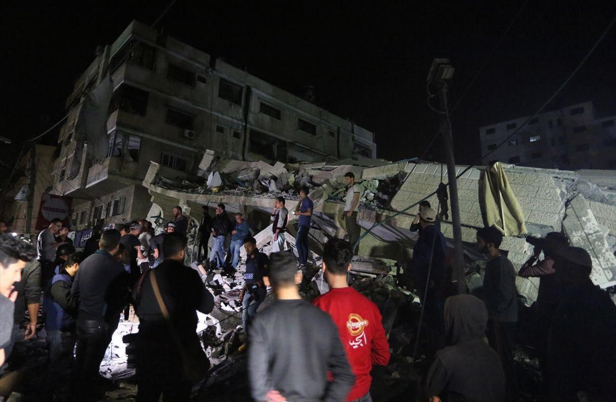 İsrail'in Gazze'ye saldırısından kareler - Sayfa 2