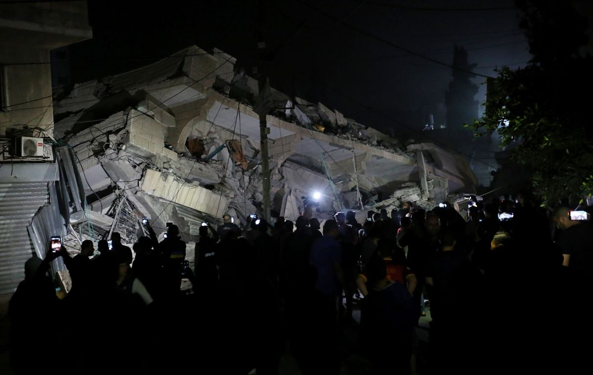 İsrail'in Gazze'ye saldırısından kareler - Sayfa 3