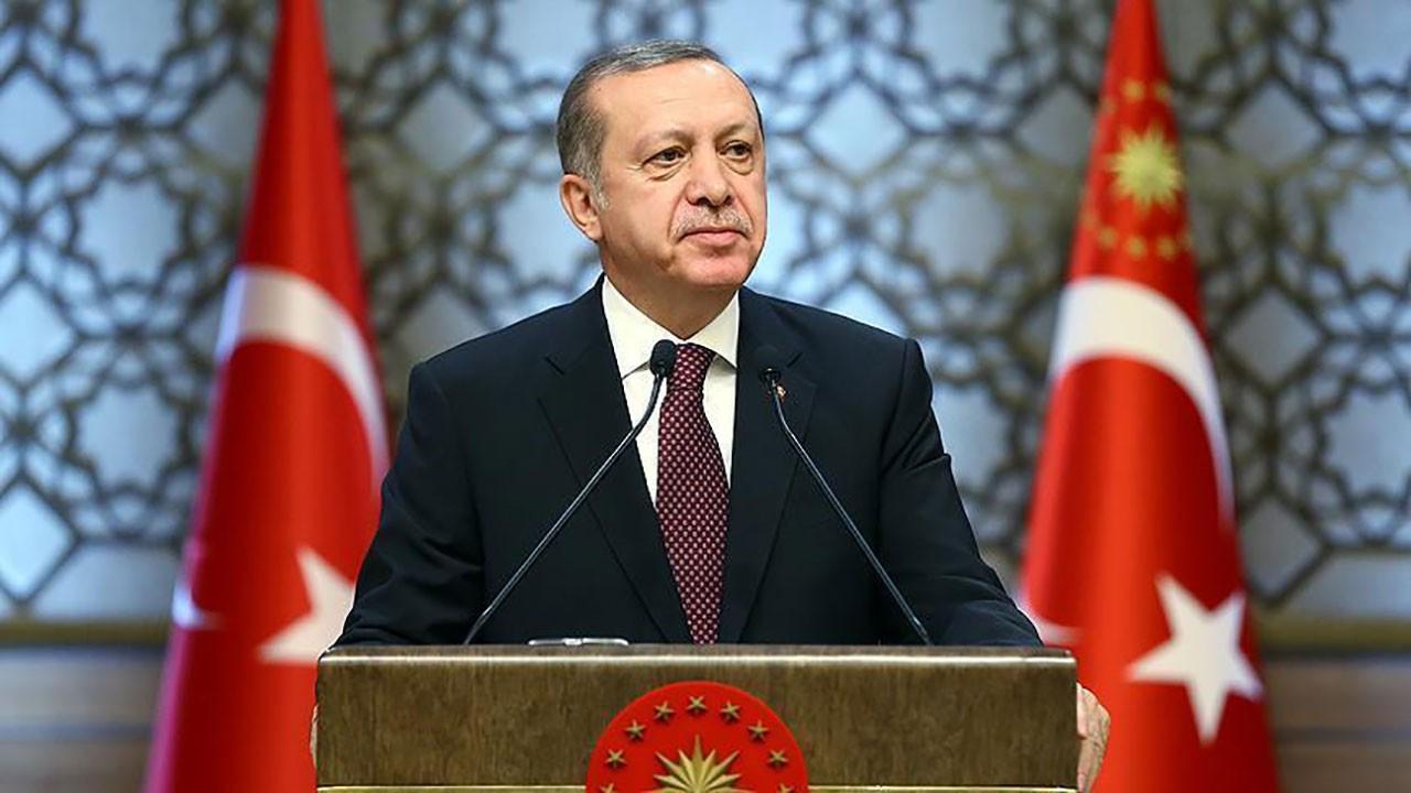 Cumhurbaşkanı Erdoğan'dan ramazan mesajı