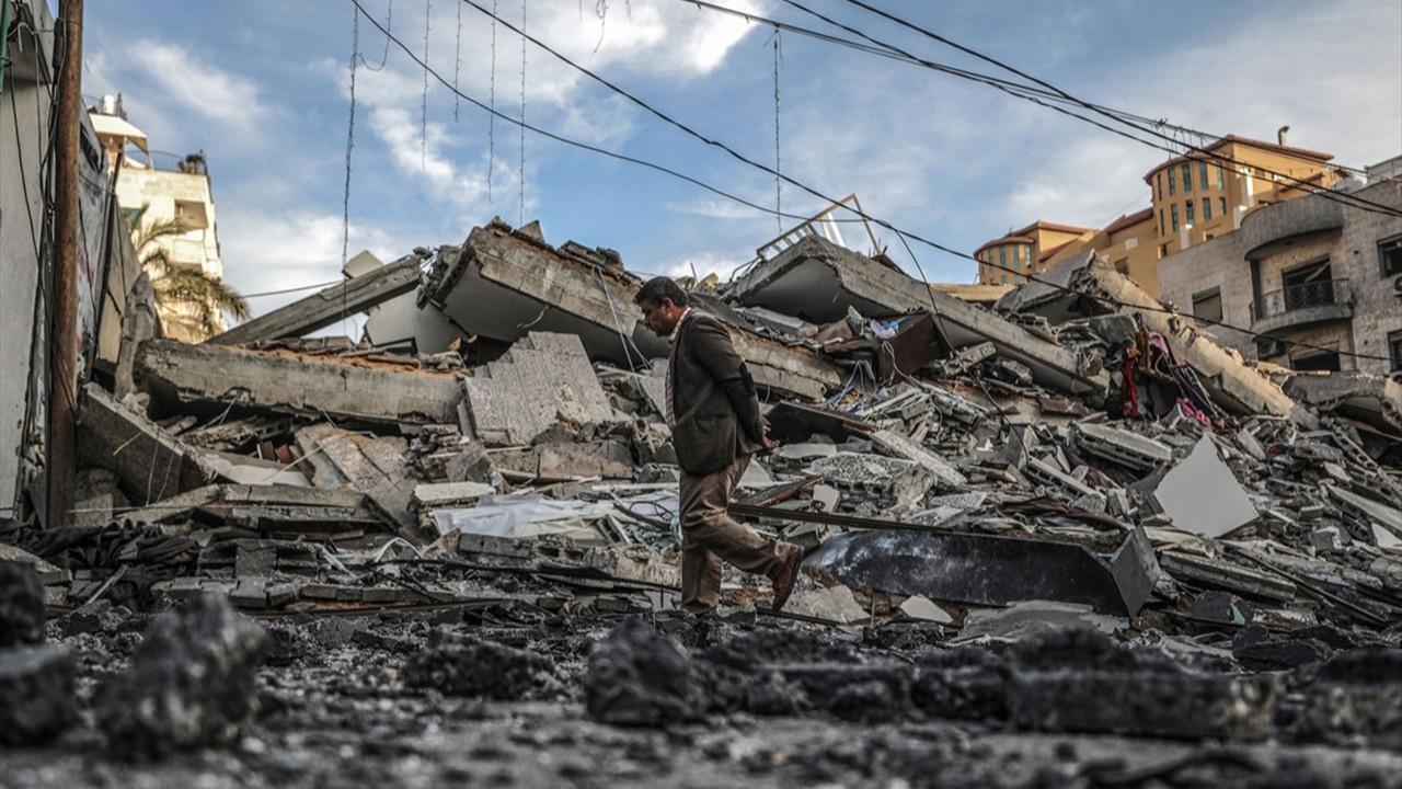 İsrail'in Gazze'ye saldırısından kareler