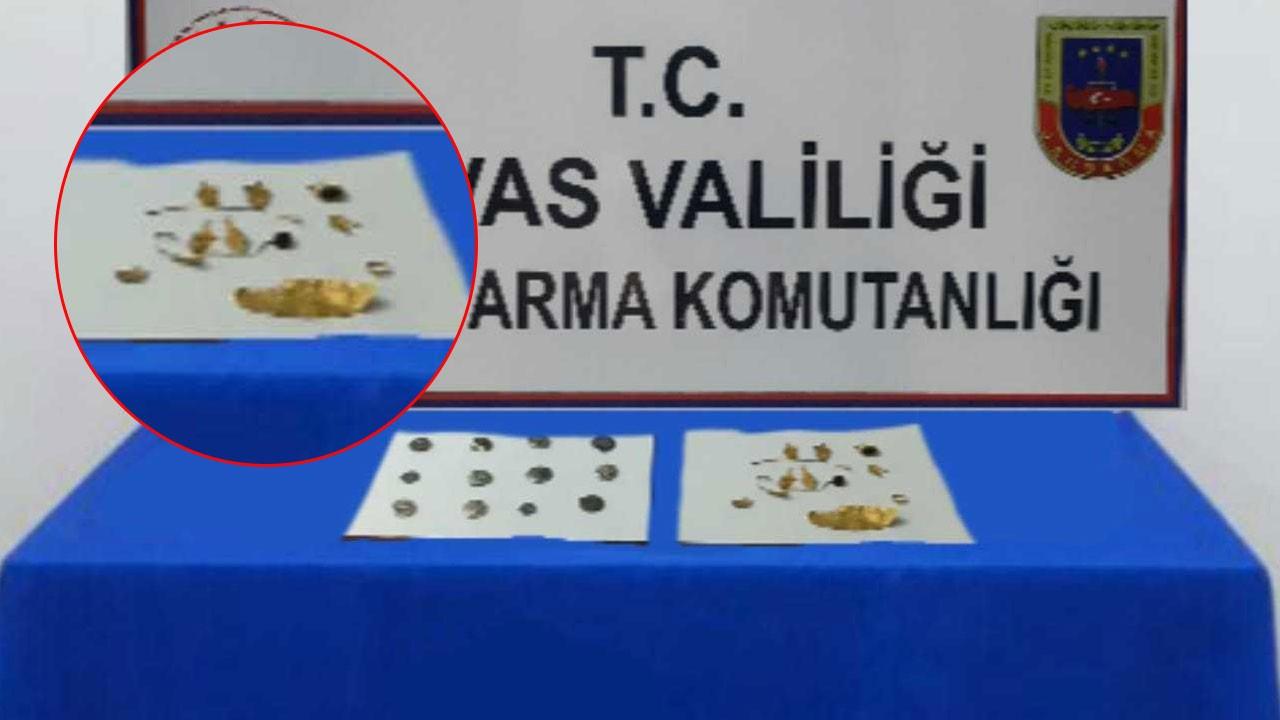 Sivas'ta ele geçirildi!.. 2 bin 500 yıllık!