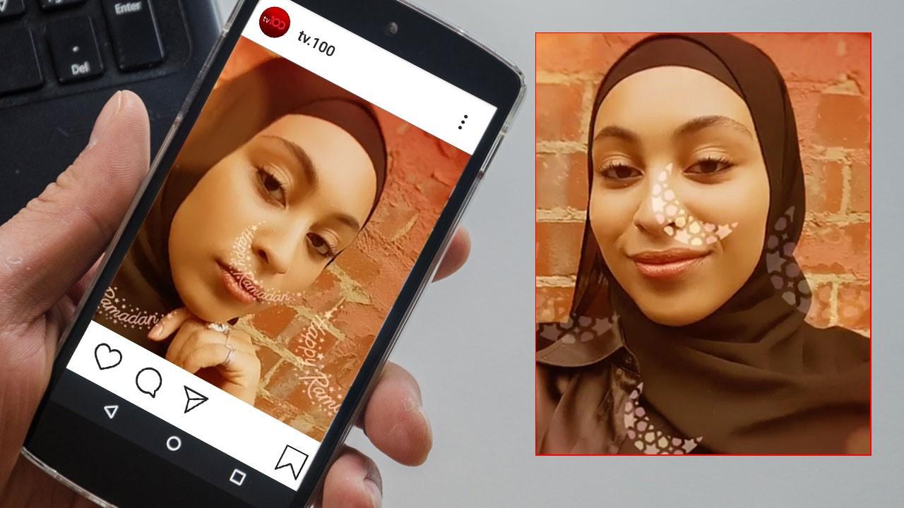 Instagram'dan Ramazan'a özel efekt
