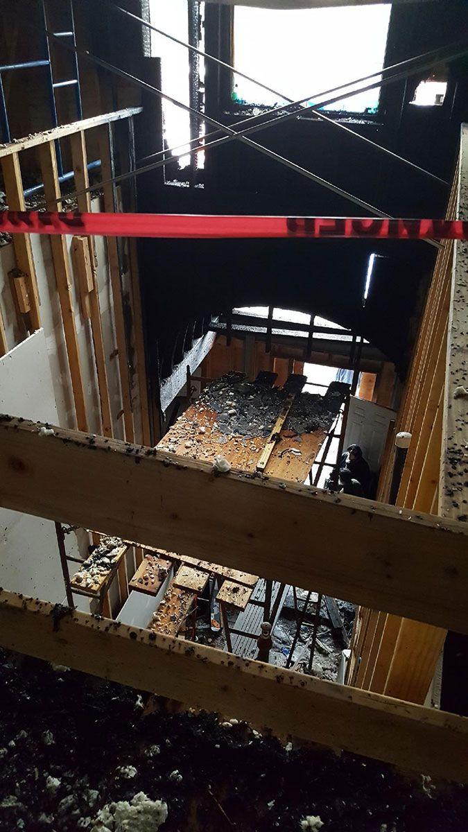 ABD'de kundaklanan camide büyük hasar - Sayfa 3