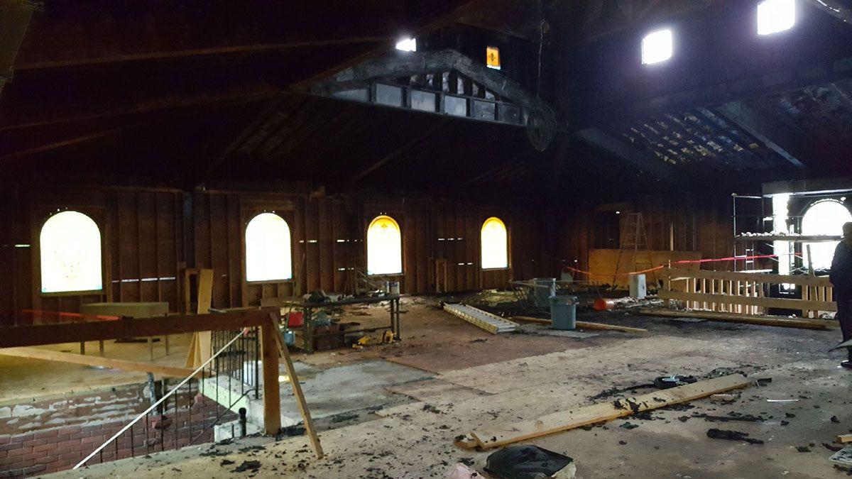 ABD'de kundaklanan camide büyük hasar - Sayfa 4