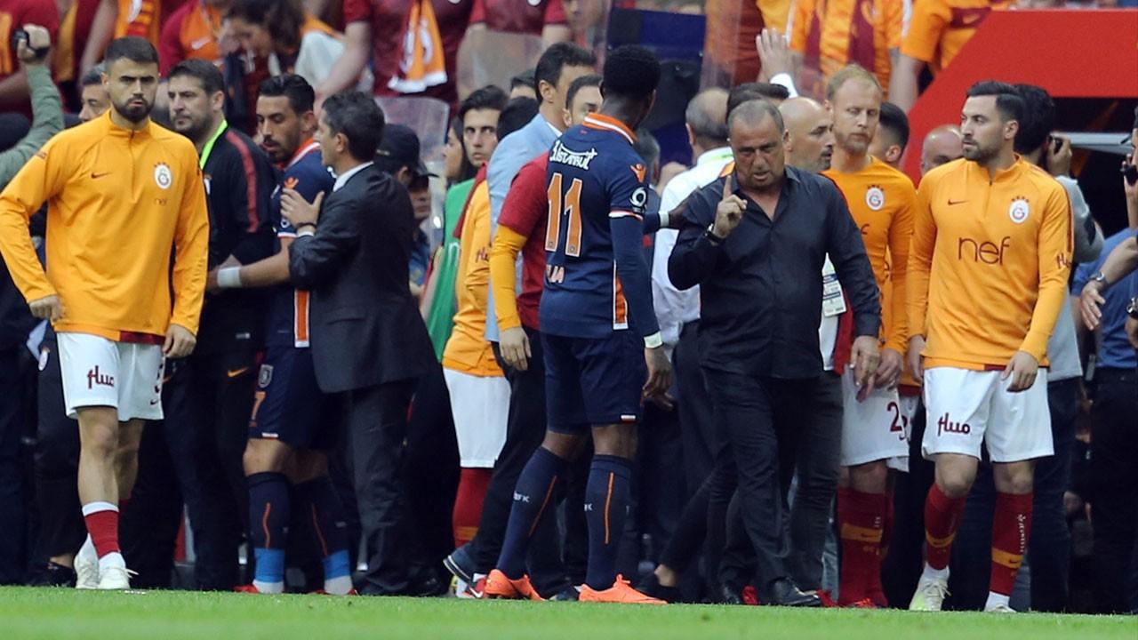Galatasaray - Başakşehir maçından kareler...