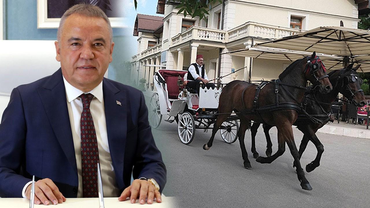Antalya Büyükşehir Belediye Başkanı duyurdu!
