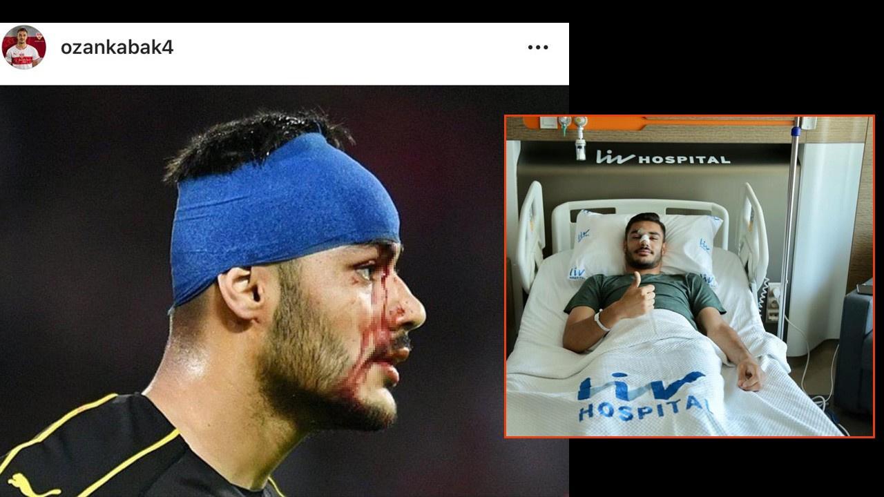 Ozan Kabak İstanbul'da ameliyat oldu