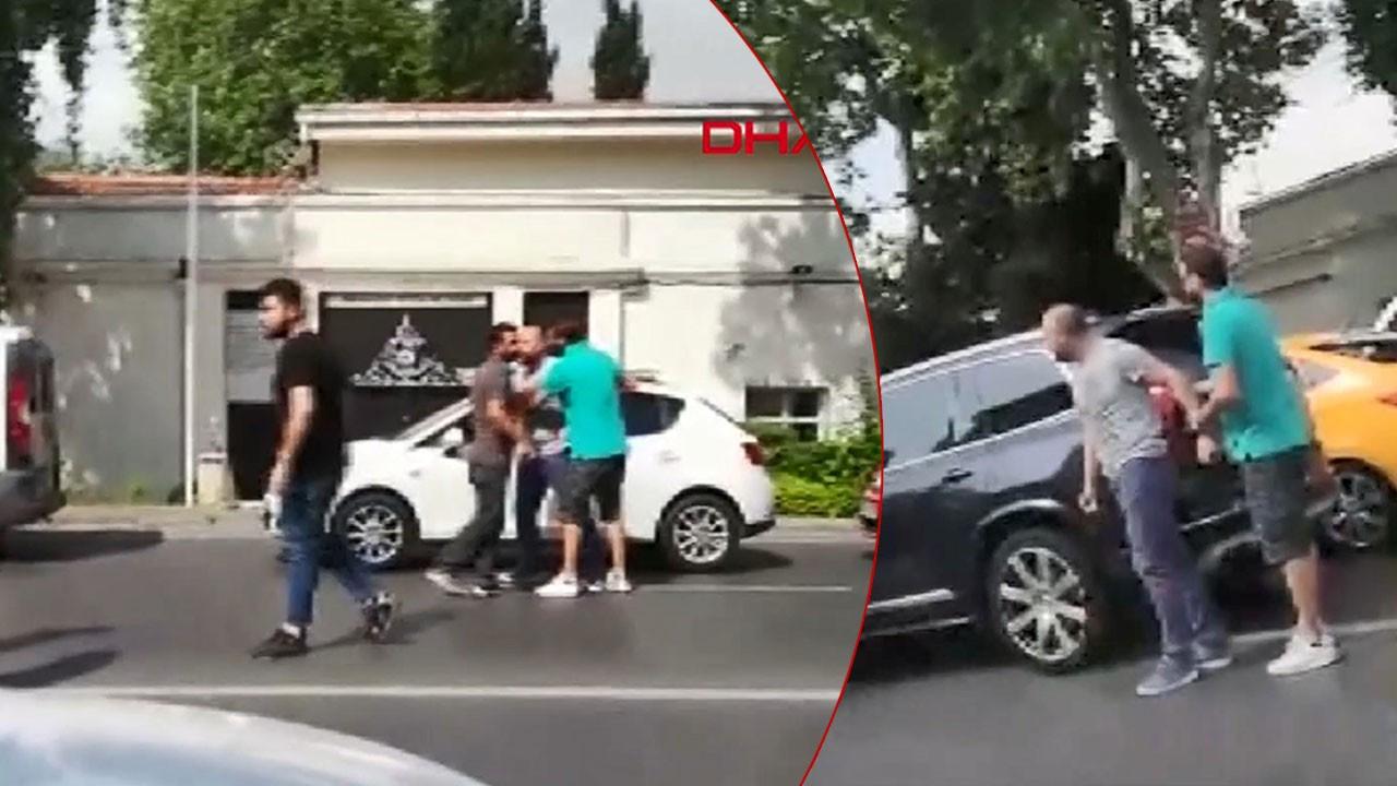 Halit Ergenç'e saldırı anları kamerada