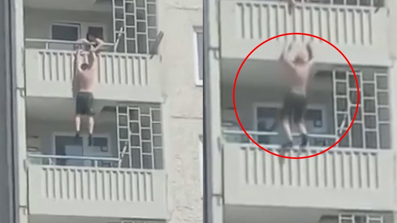 Balkona hava almaya çıktı, sonu ölümü oldu