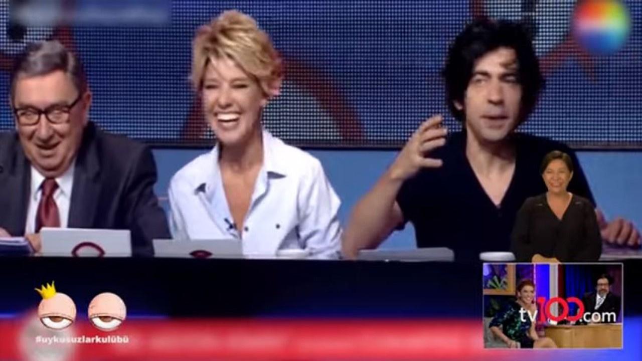 Gülben Ergen sahne performansı