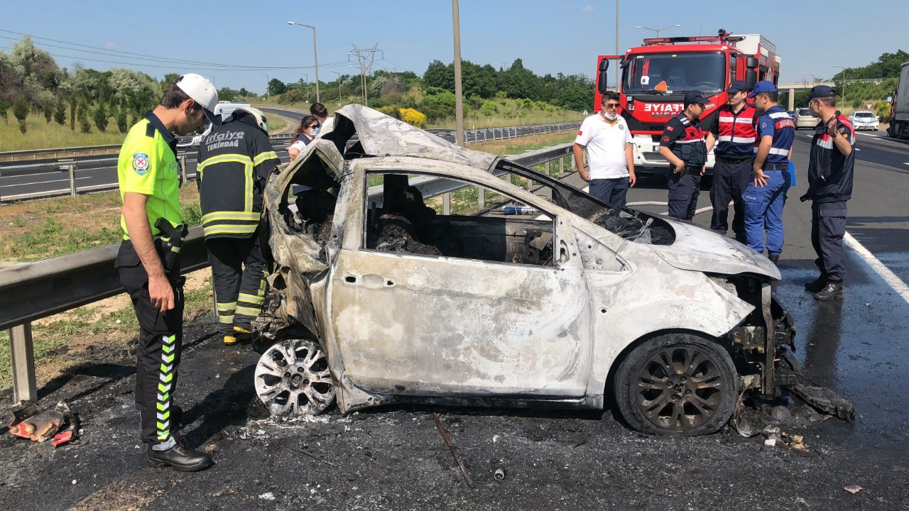 TEM'de korkunç kaza: 5 kişi hayatını kaybetti