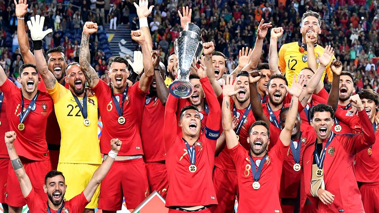 Portekiz'de şampiyonluk sevinci