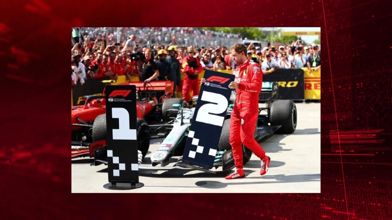 Vettel'den tarihi protesto