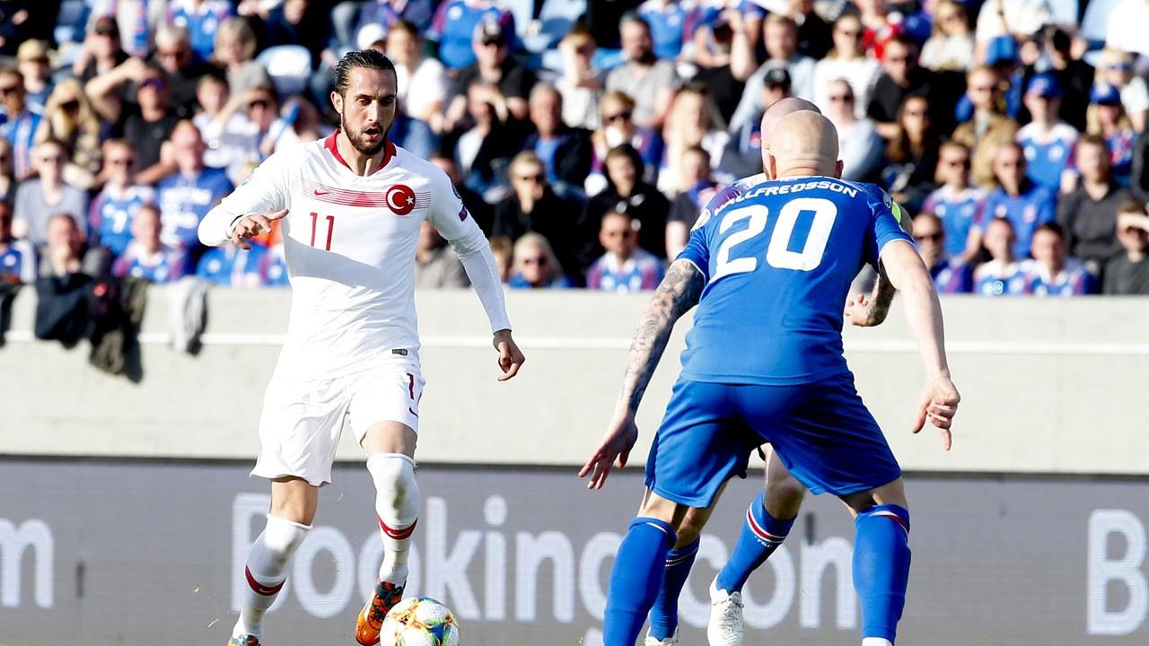 İzlanda'da mağlup olduk: 2 -1