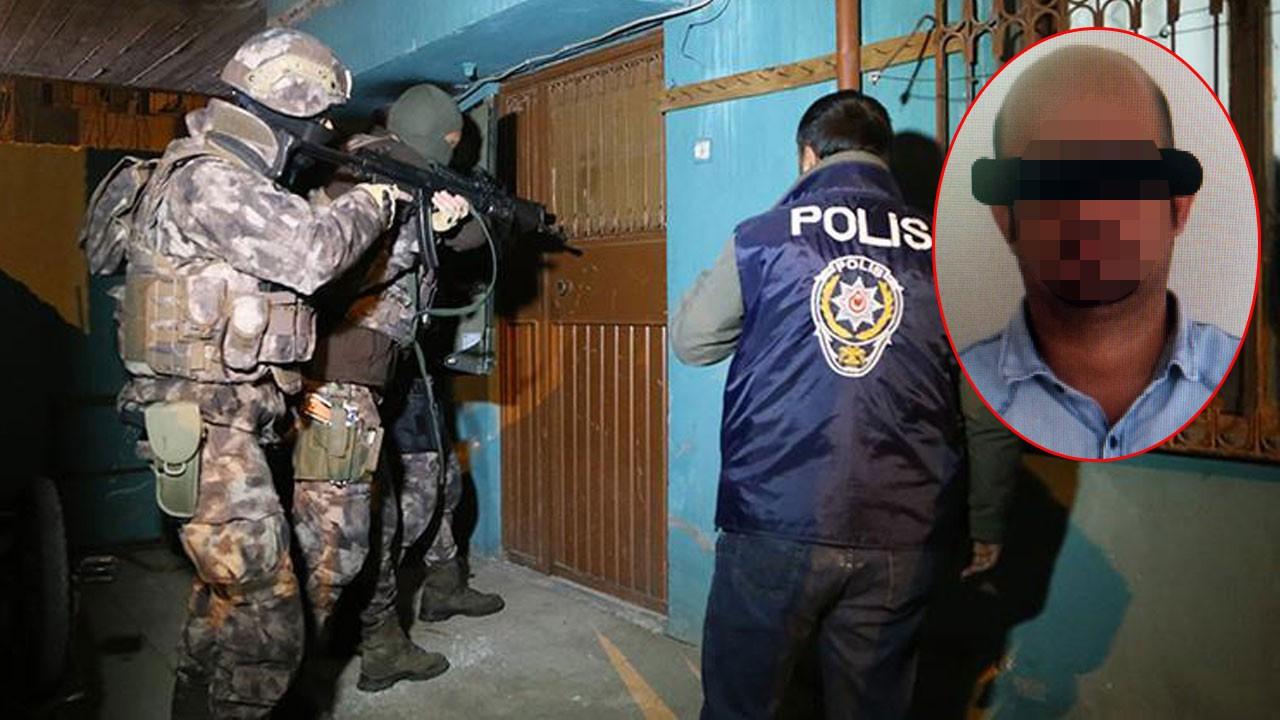 Adana'da yakalandı