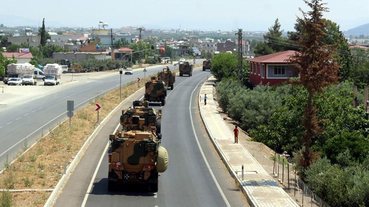 Sınır birliklerine sevkiyat!.. Zırhlı araçlarla...