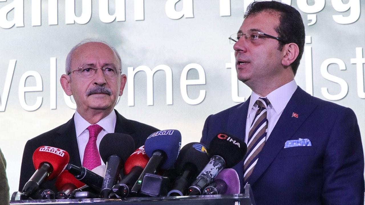 Kılıçdaroğlu'ndan İmamoğlu'na tebrik ziyareti