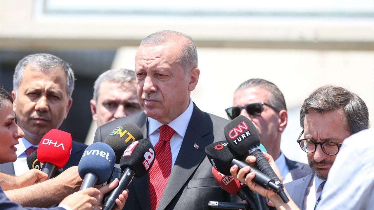 Erdoğan'dan 'yeni parti' sorusuna yanıt!