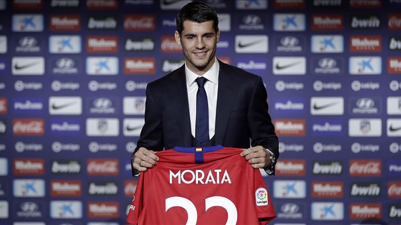 Morata, Atletico Madrid'de!