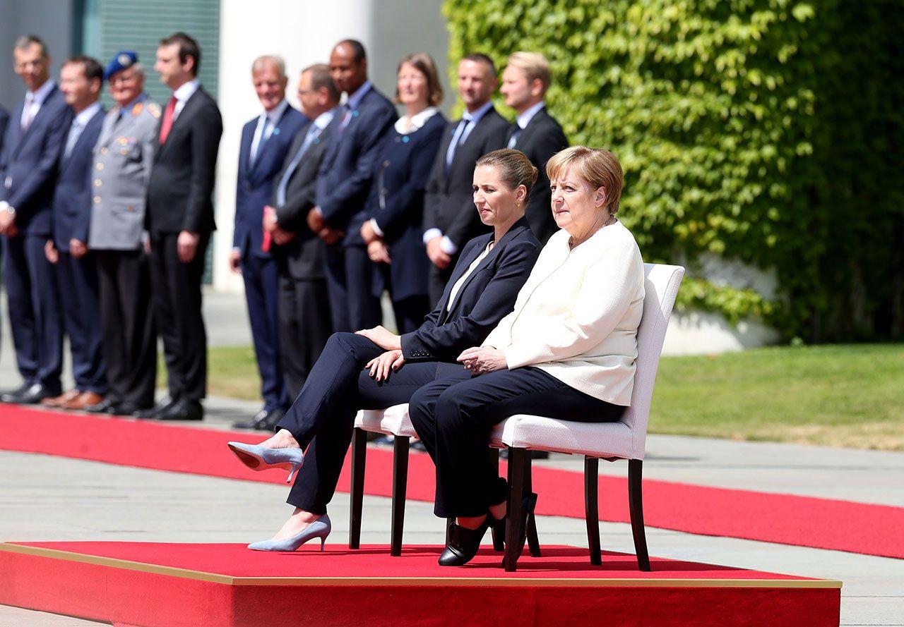 Merkel'e sandalyeli önlem - Sayfa 1