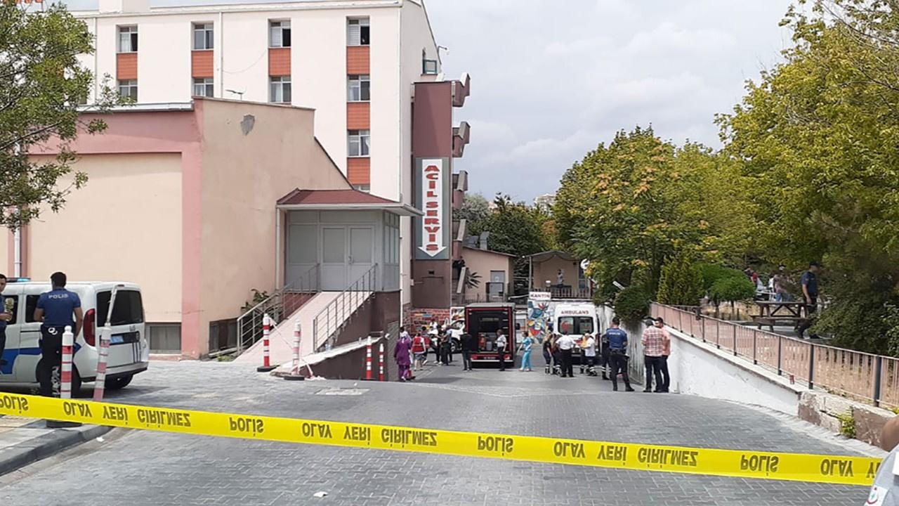 Hastanede kimyasal madde alarmı! Girişler kapatıldı