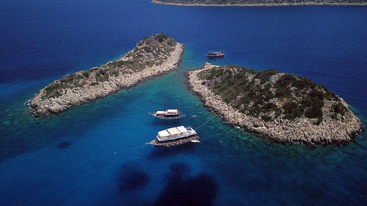 Türkiye'nin tatil cenneti Kaş'a bir de böyle bakın - Sayfa 1