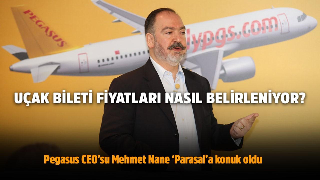Uçak bileti fiyatları nasıl belirleniyor? - Pegasus CEO'su Mehmet Nane - Parasal 2. Kısım 12.07.2019