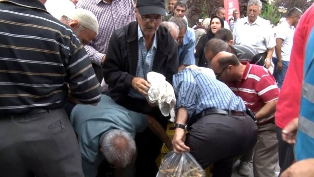 Kayseri'de izdiham