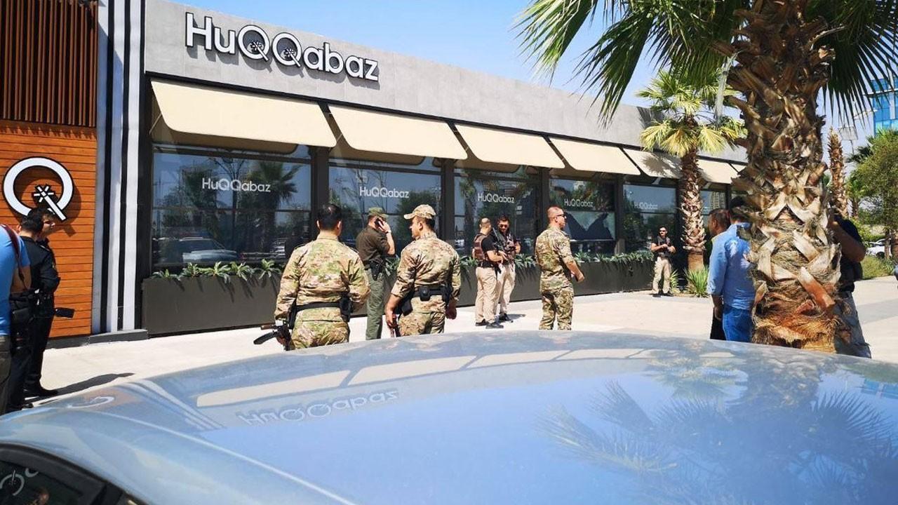 Erbil'de restorana silahlı saldırı!