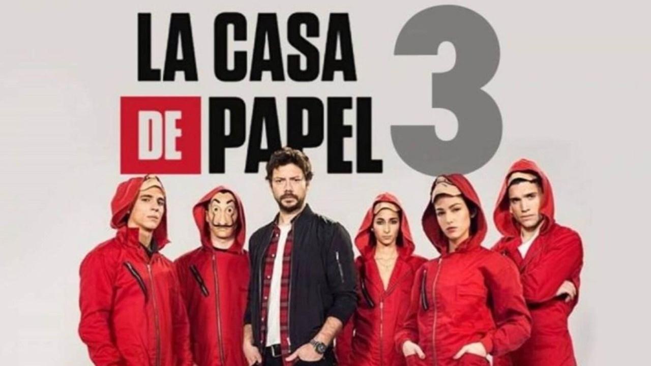 Netflix La Casa de Papel dizisinin 3. sezon bölümlerini yayınladı