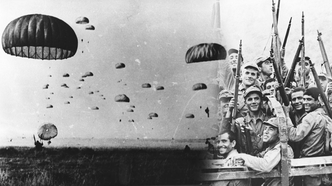 Kıbrıs Barış Harekatı'nın 45. yıl dönümü anısına yayınlandı... Bu kareleri ilk kez göreceksiniz!