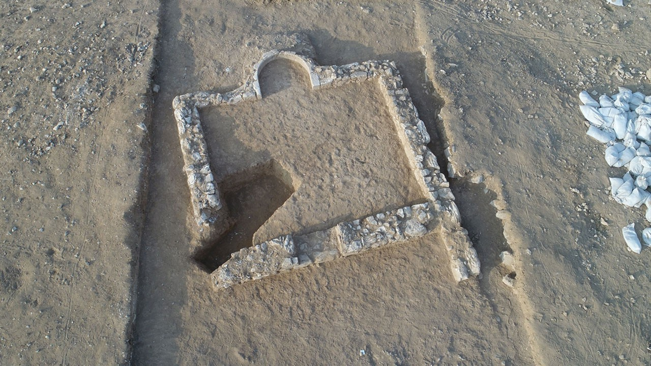 İsrail'de ortaya çıktı!.. M.S 636 yılından bu yana keşfedilen en eski cami!