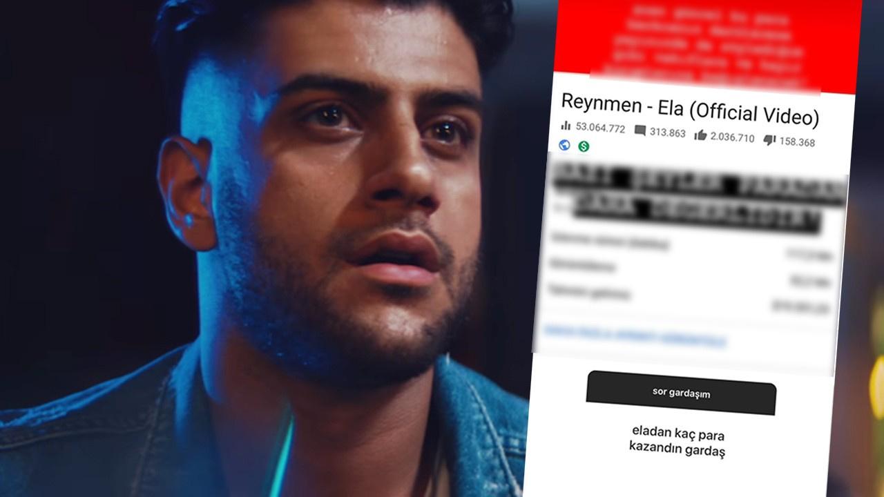 Reynmen 'Ela' şarkısından ne kadar kazandı?