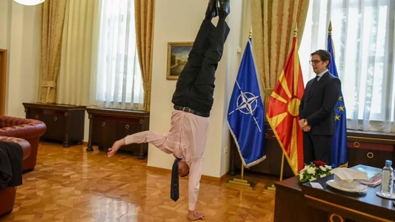 Büyükelçi diplomasiye akrobasi kattı!