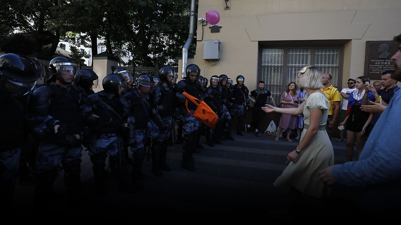 Rusya'da gösteriler artıyor... 520 kişi gözaltında