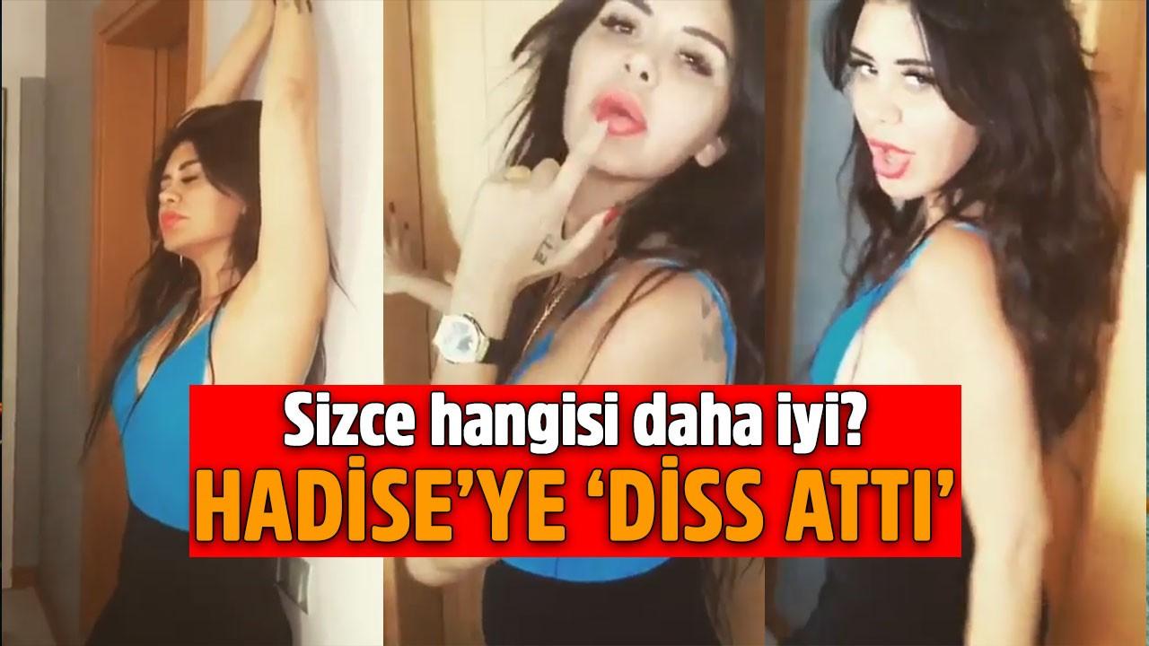 Ebru Polat'tan nefes kesen dans şov