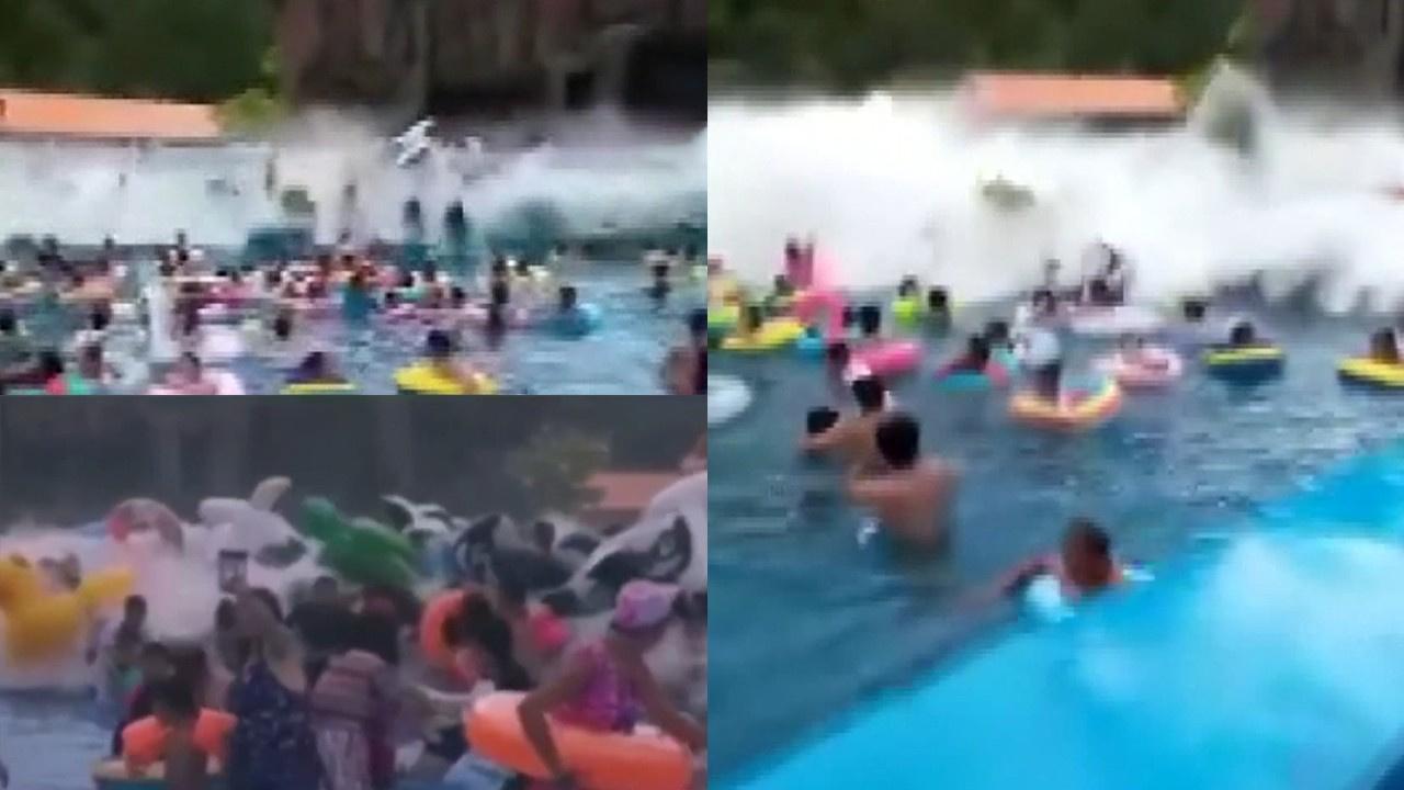 Yapay dalga havuzunda arıza: 44 yaralı