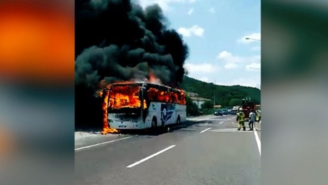 Balıkesir'de yolcu otobüsü yandı: Çok sayıda ölü ve yaralı var!
