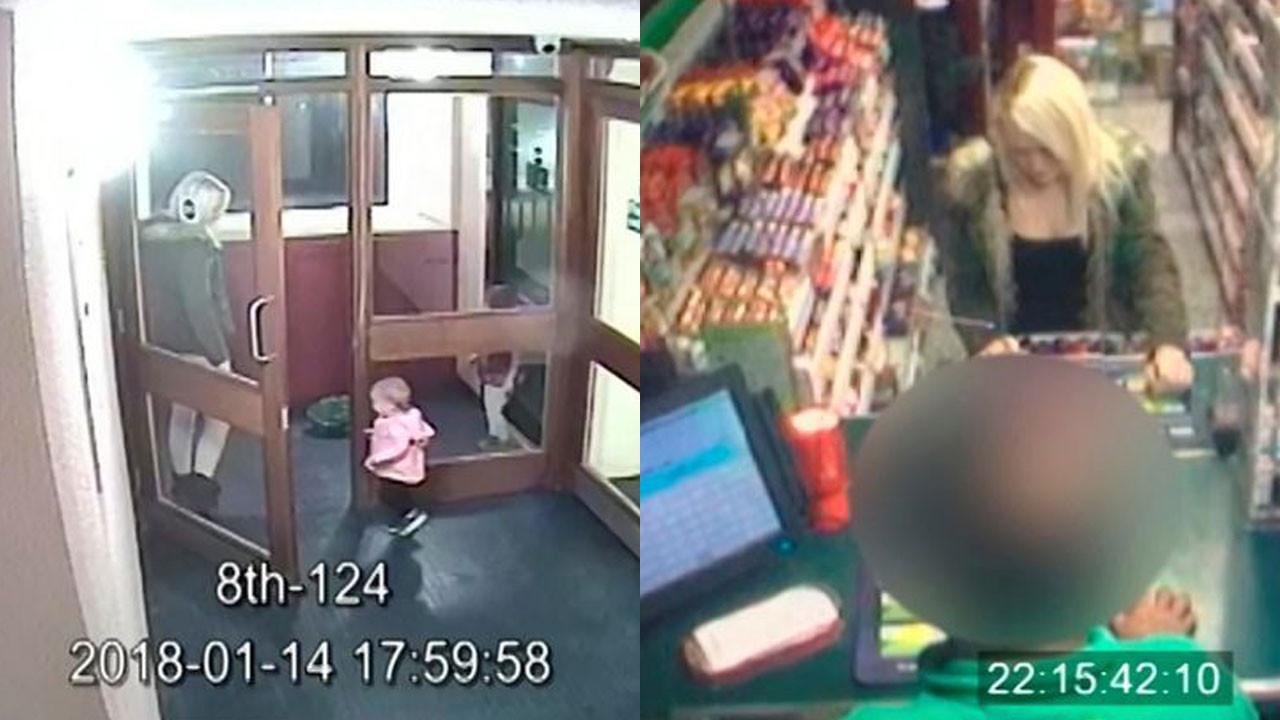Louise Porton'un çocuklarıyla geçirdiği son saatler güvenlik kameraları tarafından kaydedildi. Cani kadının, kızı arabada can verirken durup benzin aldığı ve sakin bir şekilde dolaştığı görülüyor.