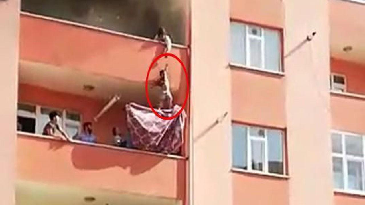 Yürekleri ağza getiren yangının adresi Adana!.. Çığlık çığlığa kurtuluş!