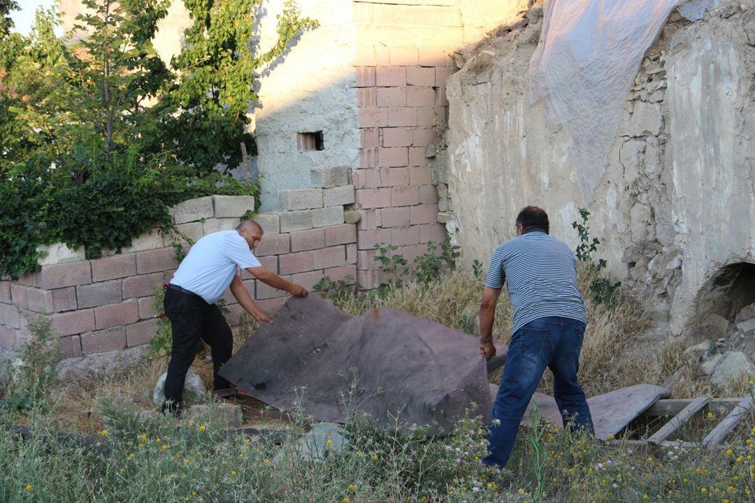 Yer: Kapadokya... Bahçe çökünce ortaya çıktı! - Sayfa 2